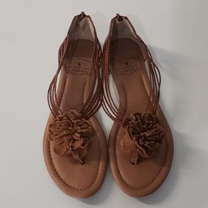 Lucky Brand Brown Sandals Sz 6